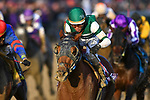 November 3, 2018: Accelerate #14, ridden by Joel Rosario, wins the Breeders' Cup Classic on Breeders' Cup World Championship Saturday at Churchill Downs on November 3, 2018 in Louisville, Kentucky. Michael McInally/Eclipse Sportswire/CSM