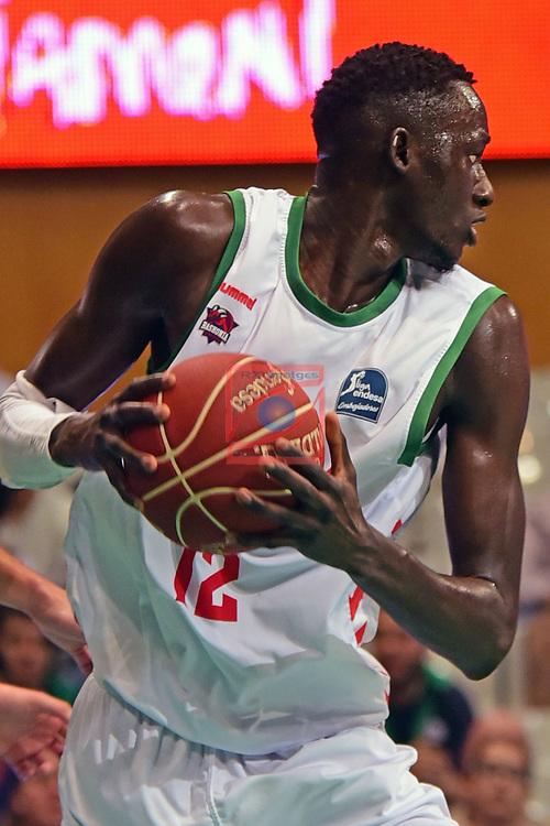 League ACB-ENDESA 2016/2017. Game: 5.<br /> Divina Seguros Joventut vs Baskonia: 83-90.<br /> Ilimane Diop.