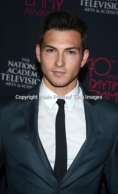 Robert Scott Wilson attends the 40th Annual Daytime Creative Arts Emmy Awards on June 14, 2013 at the  Bonaventure Hotel in Los Angeles, California.