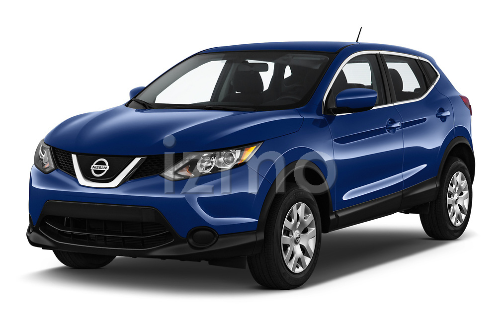 2019 Nissan Rogue-Sport S 5 Door SUV Angular Front stock photos of front three quarter view