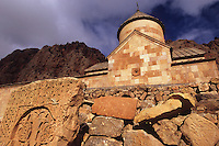 Novarank monastery, Armenia, February 2014