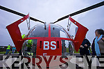 Kerry Mountain rescue and supporters at the arrival of the new Air Ambulance at Tralee General hospital on Tuesday.