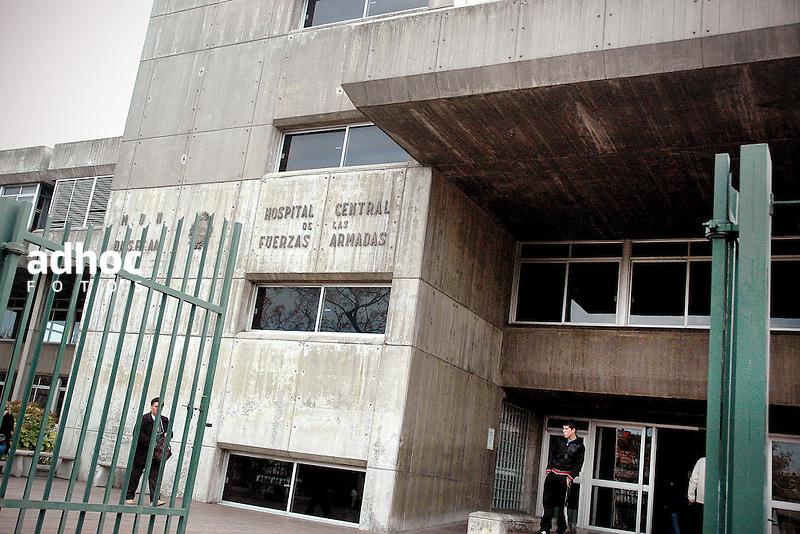 Hospital militar u Hospital Central de las Fuerzas Armadas. Montevideo, 2006.<br /> URUGUAY / MONTEVIDEO / 2006<br /> Foto: Ricardo Ant&uacute;nez / AdhocFotos<br /> www.adhocfotos.com