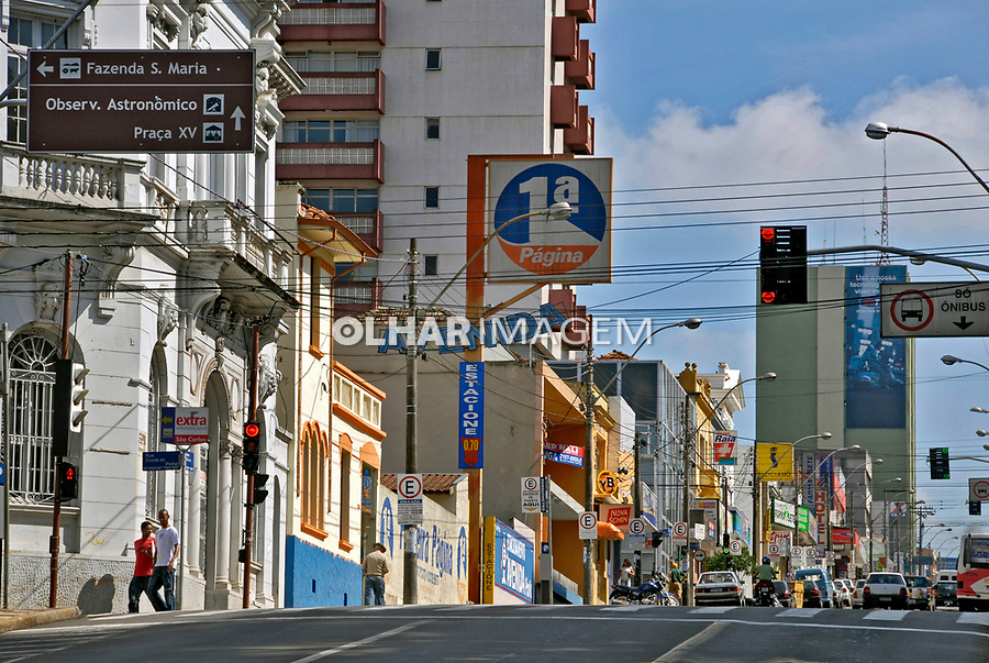 Avenida São Carlos na cidade de São Carlos. São Paulo. 2008. Foto de Juca Martins.