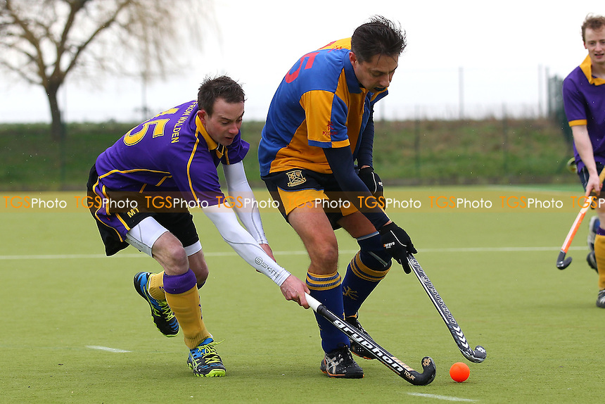 Upminster HC 3rd XI vs Saffron Walden HC 3rd XI, East Region League Field Hockey at the Coopers Company and Coborn School, Upminster, England on 13/02/2016
