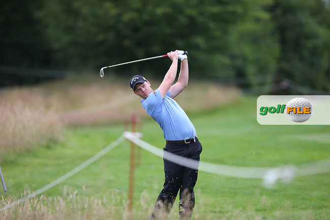 Danny Willett (ENG) holds on for a share of the lead during Round Two of the BMW International Open 2014 from Golf Club Gut Lärchenhof, Pulheim, Köln, Germany. Picture:  David Lloyd / www.golffile.ie