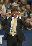 07.01.2018, EWE Arena, Oldenburg, GER, BBL, EWE Baskets Oldenburg vs WALTER Tigers T&uuml;bingen, im Bild<br /> die Brille ist da...<br /> Mathias FISCHER (T&uuml;bingen #Headcoach)<br /> Foto &copy; nordphoto / Rojahn
