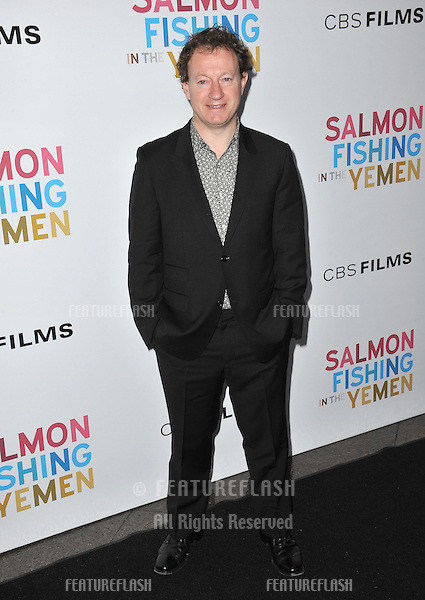 "Screenwriter Simon Beaufoy at the US premiere of his new movie ""Salmon Fishing in the Yemen"" at the Directors Guild Theatre, West Hollywood..March 5, 2012  Los Angeles, CA.Picture: Paul Smith / Featureflash"