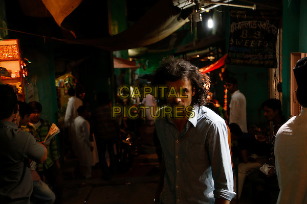 Imtiaz Ali (director) <br /> on the set of Highway (2014) <br /> *Filmstill - Editorial Use Only*<br /> CAP/NFS<br /> Image supplied by Capital Pictures