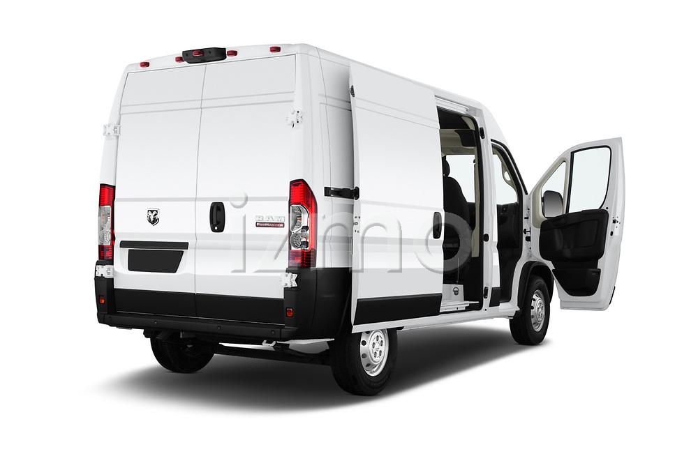 Car images close up view of a 2019 Ram Promaster Base 3 Door Cargo Van doors