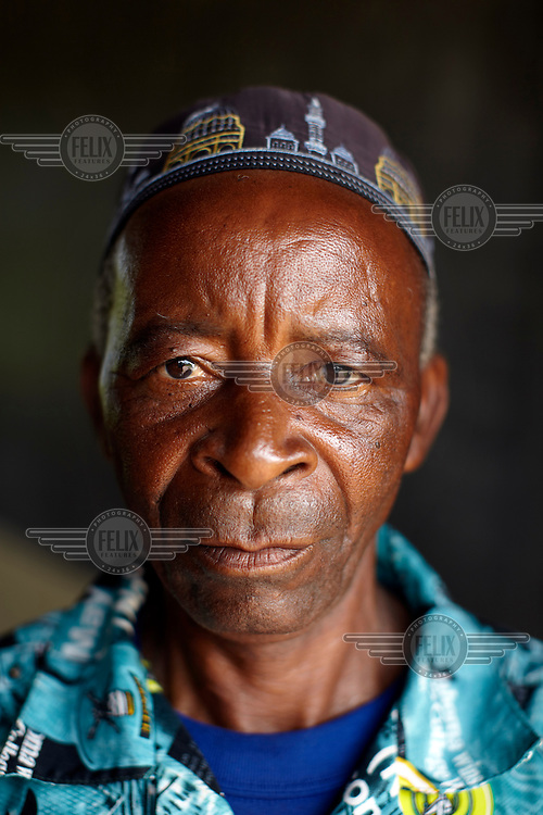 Saidi Mohamed, 50, chairman of Namedi Village.