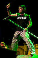 Iron Maiden performing at HiSense Arena, Melbourne, 23 February 2011