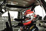 June 11 2010: Nelson Piquet, Jr. in his Toyota Tundra race truck before practice for the VFW 200 NASCAR Camping World Truck Series race  at Michigan International Speedway, Brooklyn, Michigan