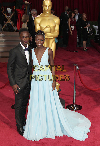 02 March 2014 - Hollywood, California - Peter Nyong'o, Jr, Lupita Nyong'o. 86th Annual Academy Awards held at the Dolby Theatre at Hollywood &amp; Highland Center. <br /> CAP/ADM/RE<br /> &copy;Russ Elliot/AdMedia/Capital Pictures