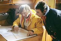 Kriter VIII, Michel Malinovsky, Michel Vanek, 17 traversées de l'Atlantique, équipier sur Pen Duick II et III