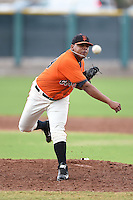 San Francisco Giants pitcher Reyes Moronta (39) during an Instructional League game against the SK Wyverns on October 17, 2014 at Giants Baseball Complex in Scottsdale, Arizona.  (Mike Janes/Four Seam Images)