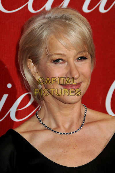 HELEN MIRREN .Palm Springs International Film Festival Awards Gala 2010 held at the Palm Springs Convention Center, Palm Springs, California, USA, .5th January 2010..portrait headshot black  necklace .CAP/ADM/BP.©Byron Purvis/AdMedia/Capital Pictures.