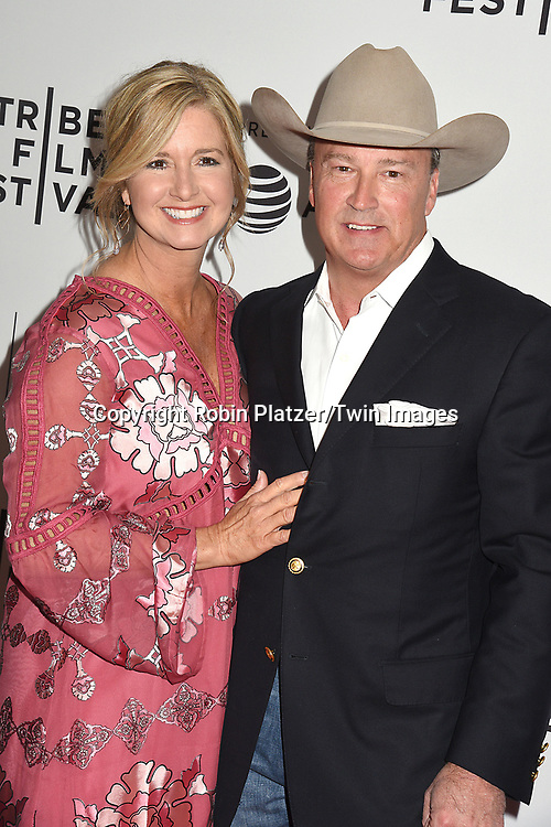 Gordon Whitener and wife attends the Dog Years&quot; screening at the Tribeca Film Festival on April 22, 2017 at Cinepolis Chelsea in New York, New York, USA.<br /> <br /> photo by Robin Platzer/Twin Images<br />  <br /> phone number 212-935-0770