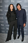 Photographer Inez Van Lamsweerde (left) and Vinoodh Matadin arrive at the WSJ. Magazine 2017 Innovator Awards at The Museum of Modern Art in New York City, on November 1, 2017.