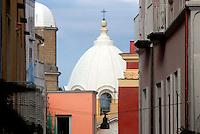 la cupola dell'abbazia di san michele arcangelo