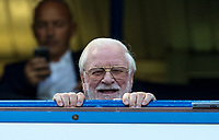 former owner of Chelsea & Leeds Ken Bates during the Premier League match between Chelsea and Everton at Stamford Bridge, London, England on 27 August 2017. Photo by Andy Rowland.