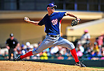 5 March 2009: Washington Nationals' pitcher J.D. Martin on the mound during a Spring Training game against the Detroit Tigers at Joker Marchant Stadium in Lakeland, Florida. The Tigers defeated the visiting Nationals 10-2 in the Grapefruit League matchup. Mandatory Photo Credit: Ed Wolfstein Photo