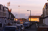 View down Clarendon Road of the old ground......© Phill Heywood.tel 07806 775649
