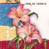 Isabella, FLOWERS, BLUMEN, FLORES, paintings+++++,ITKE021630A-S,#f#, EVERYDAY ,napkin,napkins