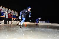 SCHAATSEN: ALTEVEER: IJsclub Alteveer, 22-01-2013, NK Kortebaanschaatsen dames, ©foto Martin de Jong