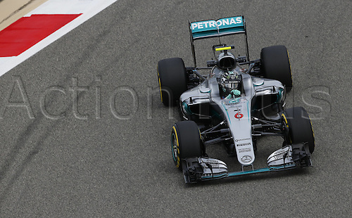 01.04.2016. Bahrain. FIA Formula One World Championship 2016, Grand Prix of Bahrain, Practise day. 6 Nico Rosberg (GER, Mercedes AMG Petronas Formula One Team)