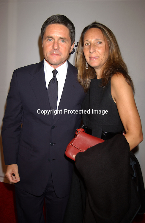 Brad Grey and wife                                ..at the 6th Annual New York City Gala to benefit Project ALS on October 20, 2003 at the Hammerstein Ballroom ...Photo by Robin Platzer, Twin Images