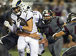 Torrance, CA 09/25/15 - Ashton Saltz (El Segundo #10) in action during the El Segundo - Torrance varsity football game at Zamperini Field of Torrance High School