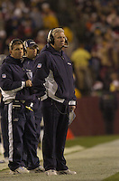 18 December 2005:Cowboys Coach Bill Parcells (Tuna)..The Washington Redskins defeated the Dallas Cowboys 35-7  at FedEx Field in Landover, MD.