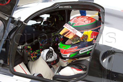 02.05.2015.  Spa-Francorchamps, Belgium. World Endurance Championship Round 2. Porsche Team LMP1 Hybrid Porsche 919 driver Brendon Hartley in the cockpit.