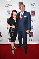 HOLLYWOOD, CA - OCTOBER 7 : Kate Flannery, Chris Haston, at The National Breast Cancer Coalition's 18th Annual Les Girls Cabaret at Avalon Hollywood in Hollywood California on October 7, 2018. <br /> CAP/MPIFS<br /> ©MPIFS/Capital Pictures