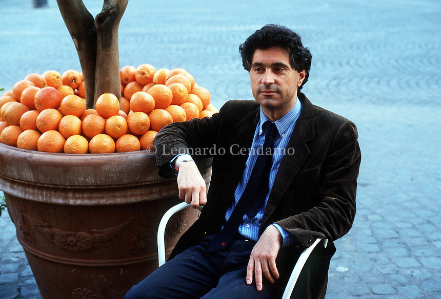 APR 2000, ROMA: VITO BRUNO, WRITER © Leonardo Cendamo