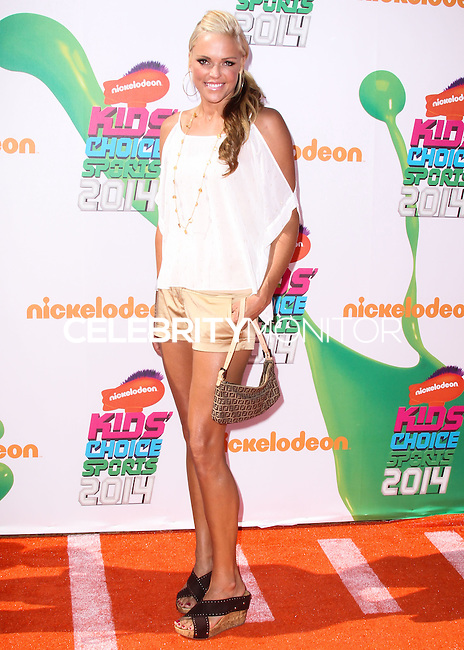 WESTWOOD, LOS ANGELES, CA, USA - JULY 17: Jennie Finch at the Nickelodeon Kids' Choice Sports Awards 2014 held at UCLA's Pauley Pavilion on July 17, 2014 in Westwood, Los Angeles, California, United States. (Photo by Xavier Collin/Celebrity Monitor)