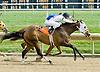 Monte winning at Delaware Park on 9/3/11