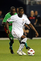 Maurice Edu USMNT...USMNT defeated Guadeloupe 1-0 in Gold Cup play at LIVESTRONG Sporting Park, Kansas City, Kansas.