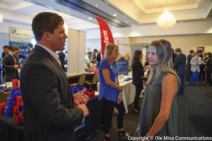 RMI 2017 Fall Career Fair. Photo by Thomas Graning/Ole Miss Communications