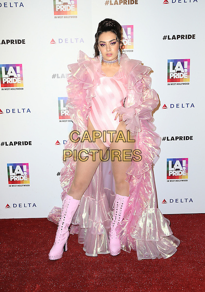 West Hollywood, CA - June 11 Charli XCX Attending 2016 LA Pride Opening night Festival Day 2 at The West Hollywood Park On June 11, 2016. <br /> CAP/MPI/SAD<br /> &copy;SAD/MPI/Capital Pictures