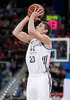 Real Madrid's Jaycee Carroll during Spanish Basketball King's Cup match.February 07,2013. (ALTERPHOTOS/Acero) /Nortephoto