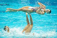 JPN - Japan<br /> HAKOYAMA Aika HAYASHI Aiko<br /> INUI Yukiko MARUMO Kei<br /> MITSUI Risako NAKAMAKI Kanami<br /> NAKAMURA Mai YOSHIDA Kurumi<br /> Team Free Preliminary<br /> Day5 28/07/2015<br /> XVI FINA World Championships Aquatics<br /> Synchro<br /> Kazan Tatarstan RUS July 24 - Aug. 9 2015 <br /> Photo Pasquale Mesiano/Deepbluemedia/Insidefoto