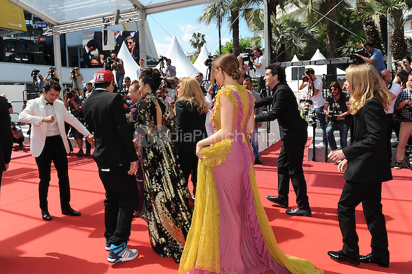 Crew arrive at the &acute;American Honey` screening during The 69th Annual Cannes Film Festival on May 15, 2016 in Cannes, France.<br /> CAP/LAF<br /> &copy;Lafitte/Capital Pictures /MediaPunch ***NORTH AND SOUTH AMERICA ONLY***