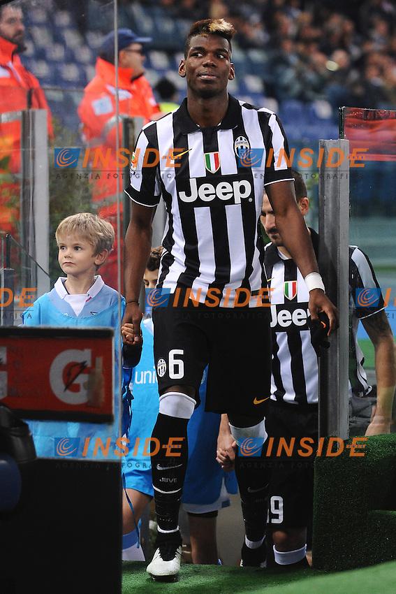 Paul Pogba Juventus <br /> Roma 22-11-2014 Stadio Olimpico, Football Calcio Serie A . Lazio - Juventus. Foto Andrea Staccioli / Insidefoto