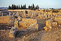 Carthage, Tunisia.  Damous El-Karita Basilica Ruins.  3rd.-7th. Century A.D.