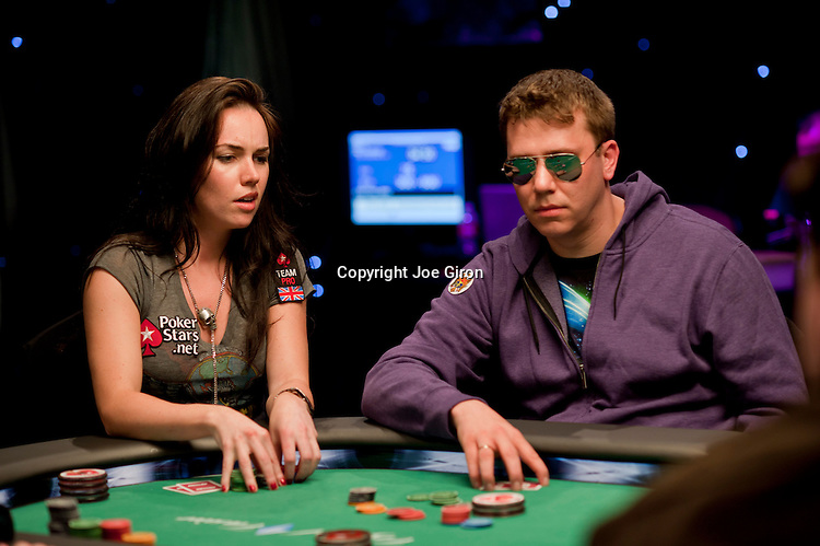 Team Pokerstars Pro Liv Boeree and Kevin MacPhee