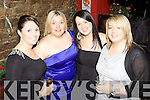 Pictured in Murphy's Bar, Abbeyfeale last Thursday night for New Years Eve celebrations was l-r: Emma Scannell, Kit Donovan, Corina O'Connell and Siobhain Kelly.