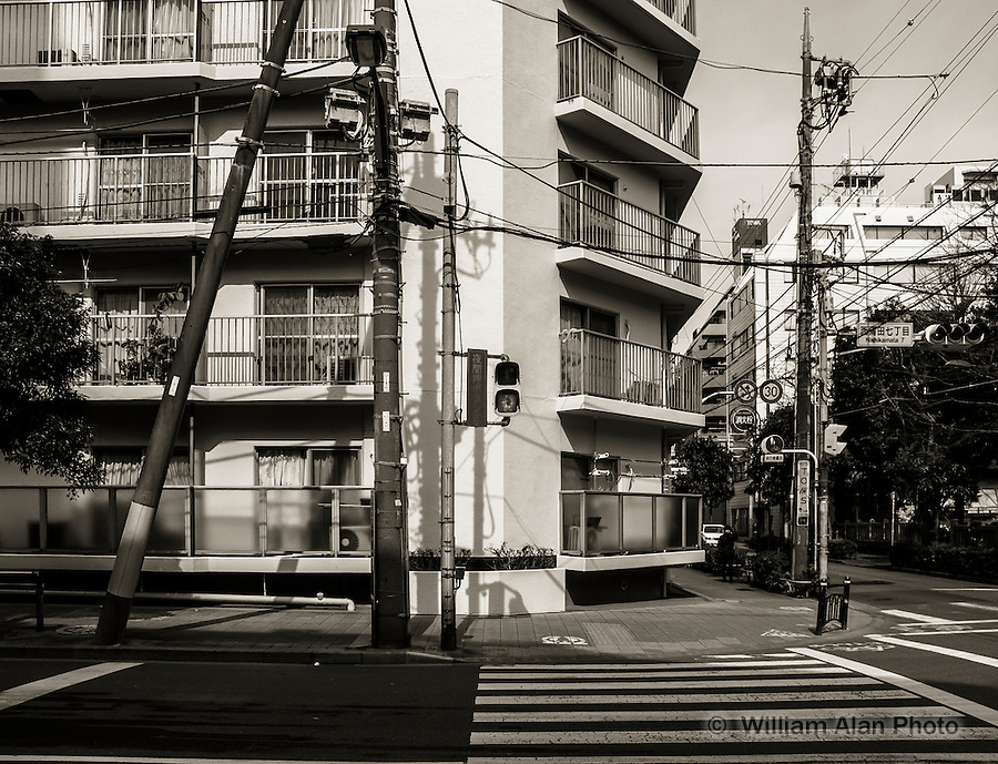 Mansions in Ota, Japan 2014.