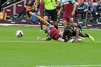 Ryan Fredericks of West Ham United  during West Ham United vs Manchester City, Premier League Football at The London Stadium on 10th August 2019